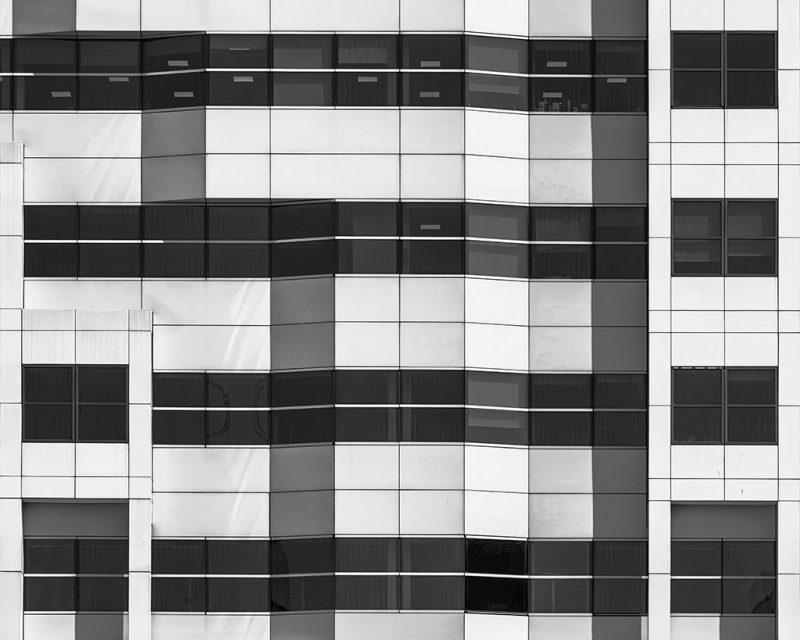 Facade of an office building, Upper Thames Street. London